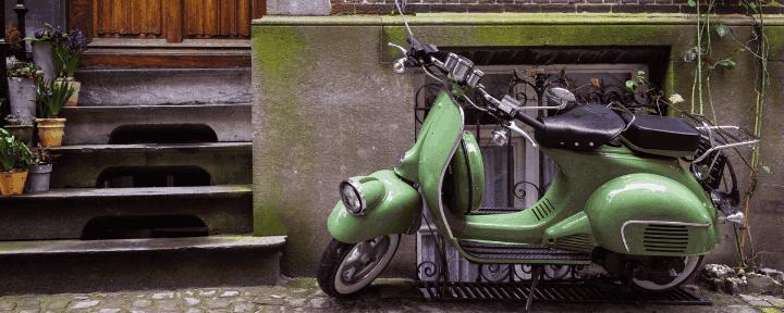 Garantizar moto usada