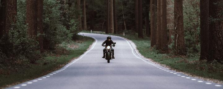 Vizcaya en moto