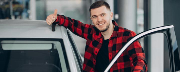vendedor coche